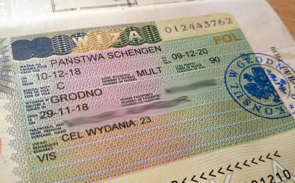 Виза в польшу для белорусов - процедура оформления: инструкция