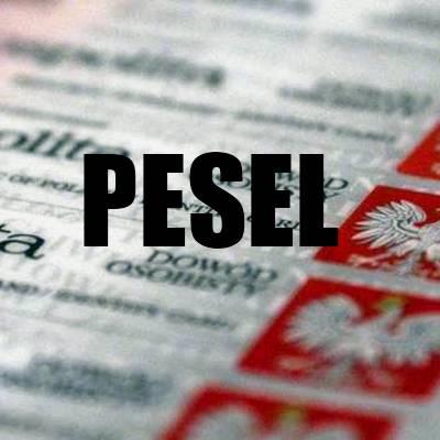 Как получить номер pesel в польше?