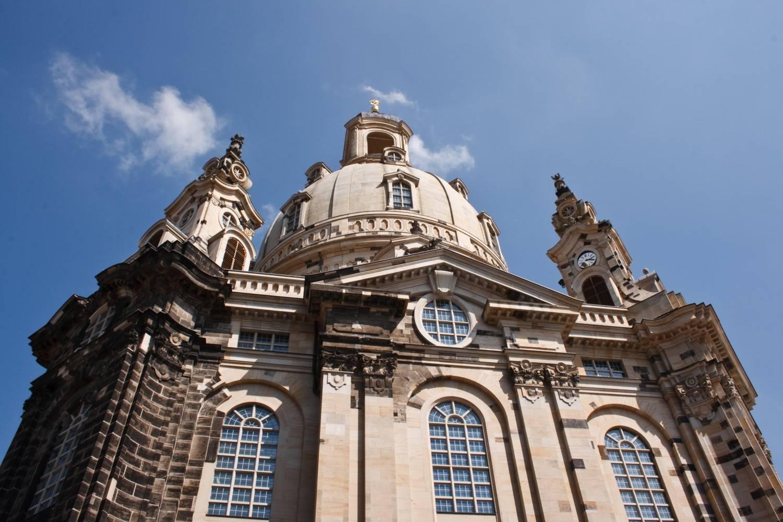 Церковь фрауэнкирхе в дрездене (frauenkirche dresden)