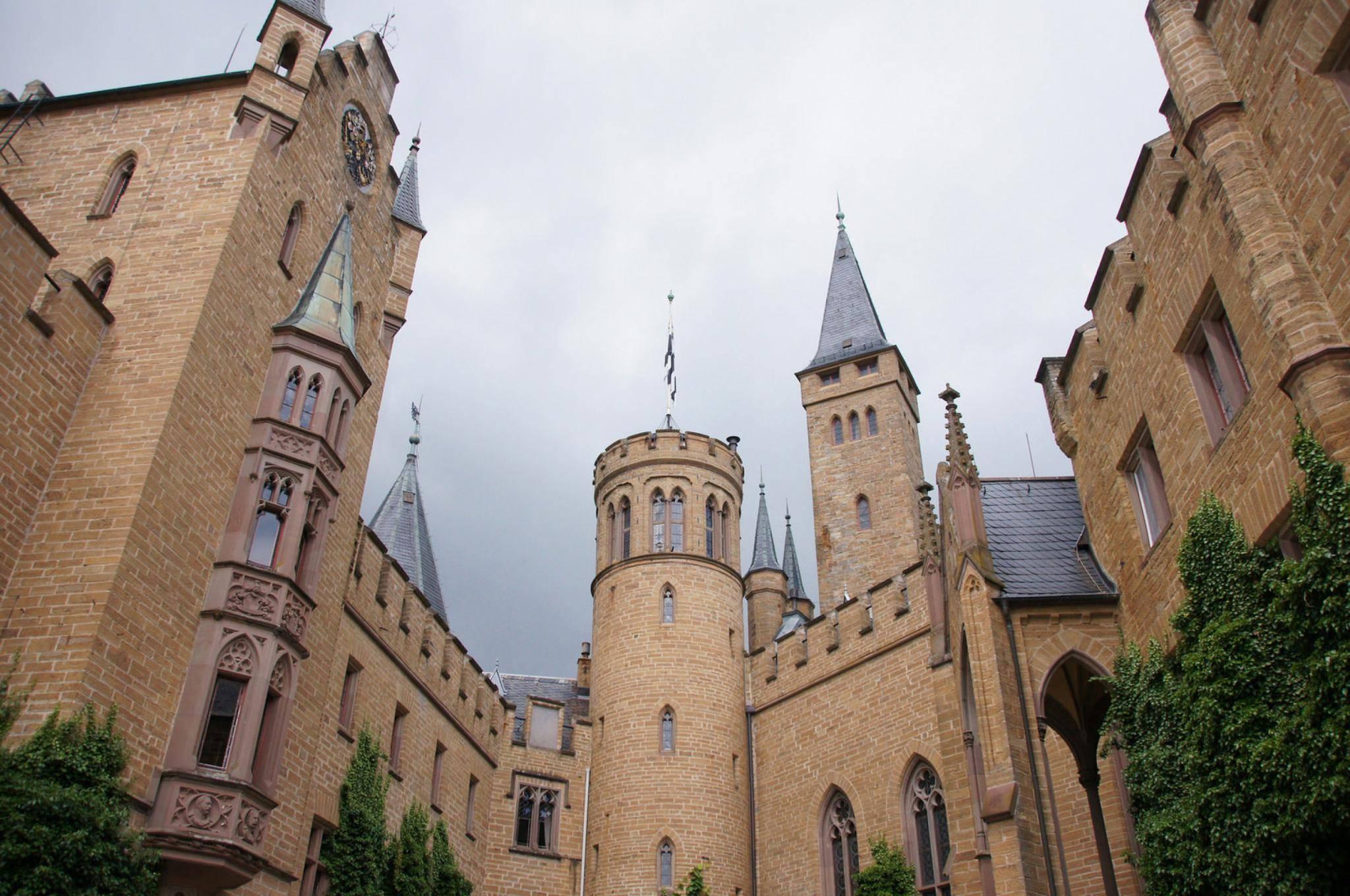 Замок гогенцоллерн (burg hohenzollern) - замки германии
