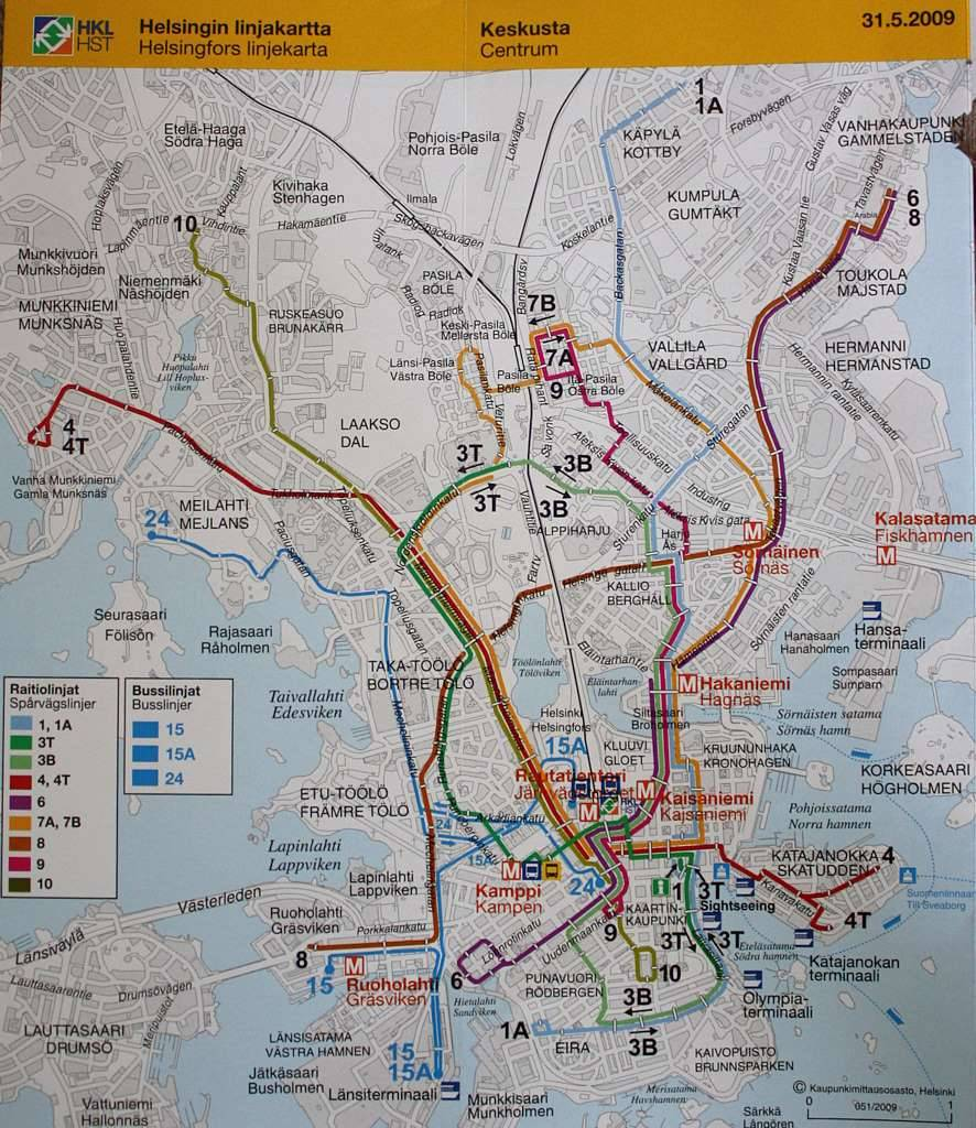 Схема метро хельсинки. хельсинкский метрополитен