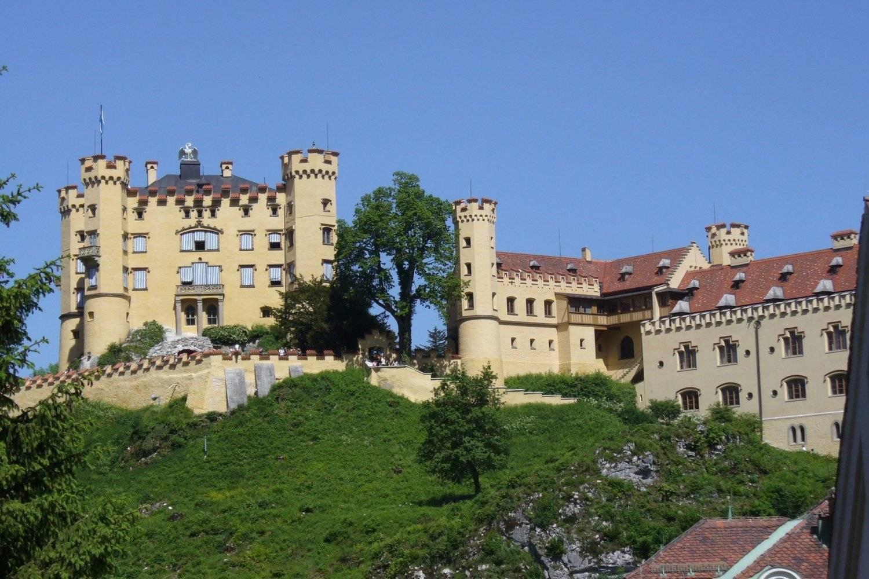 Деревня хоэншавнгау: замки германии фото, как добраться