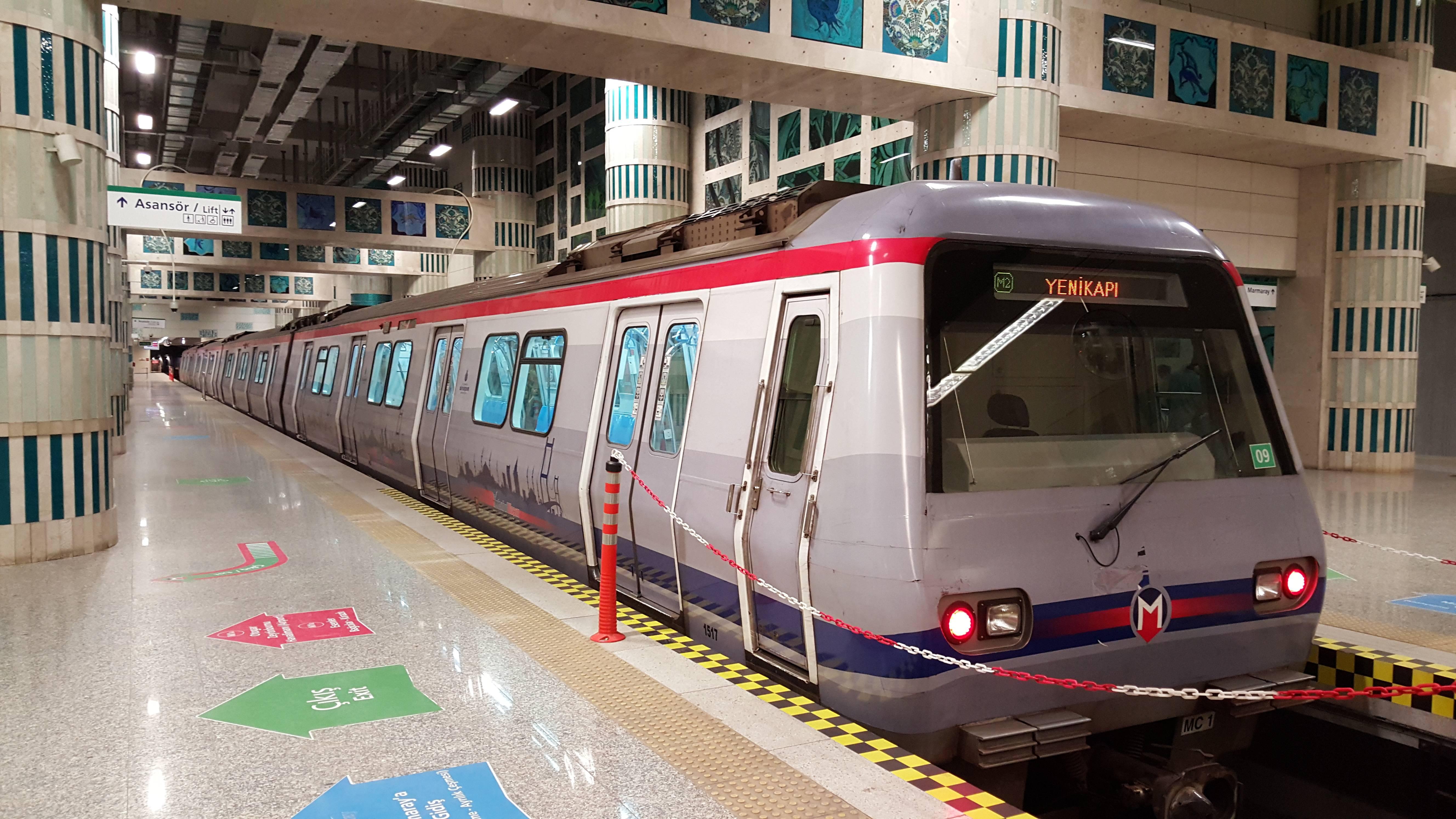 Метро стамбула: схема города, время работы и стоимость
