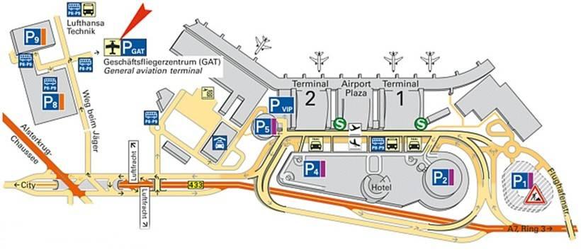 Центральный автовокзал гамбурга (zentral omnibus bahnhof/zob)
