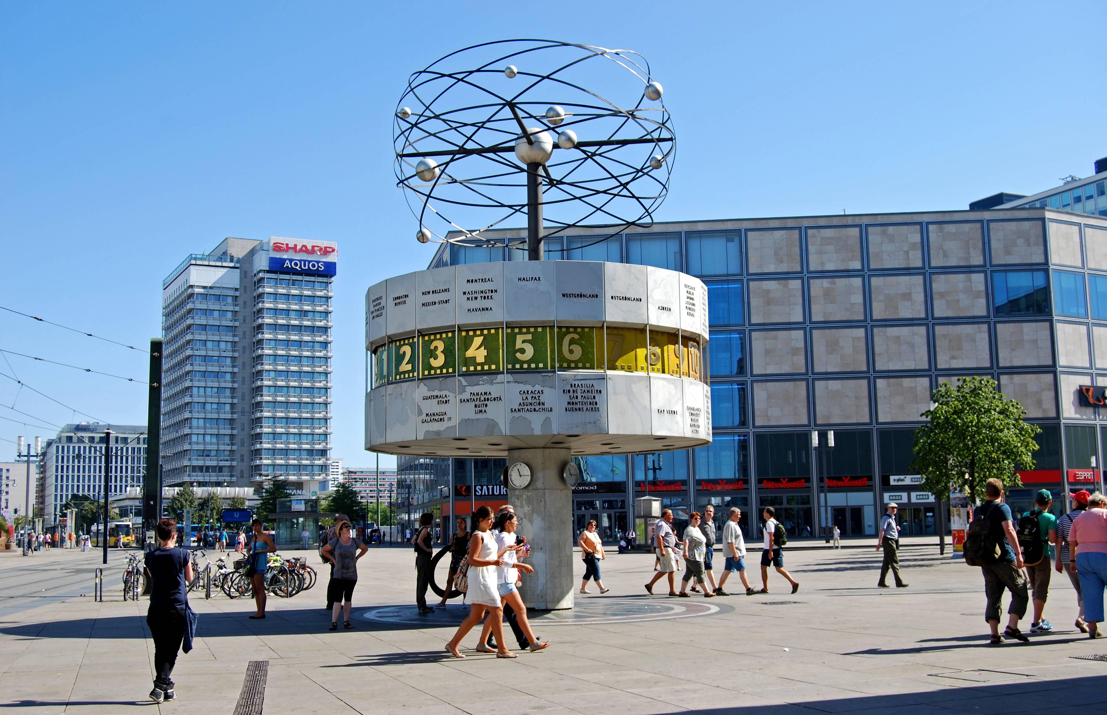 Александерплац в 2021