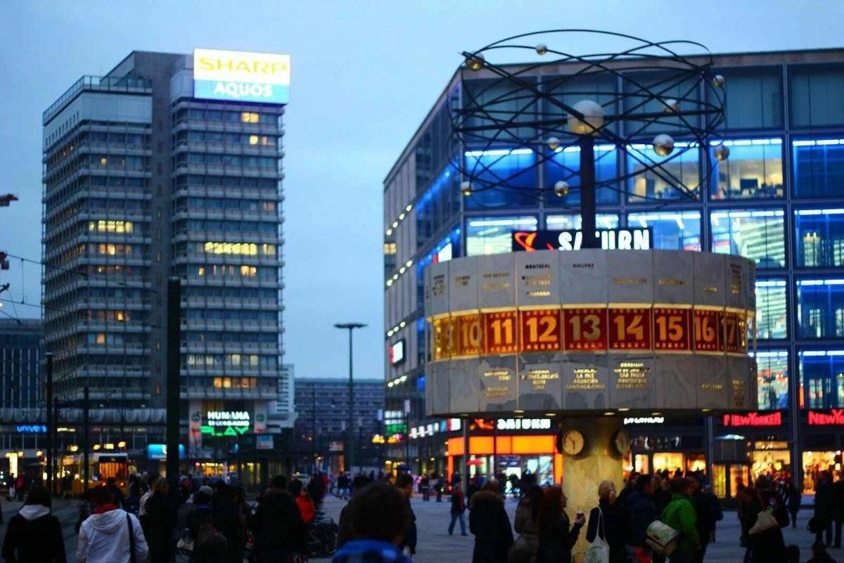 Александерплац (alexanderplatz)