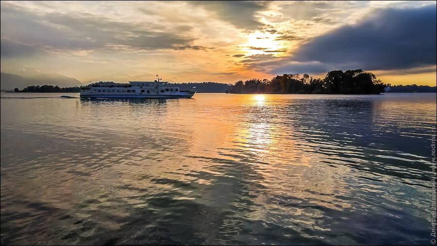 Озеро кимзее (chiemsee)