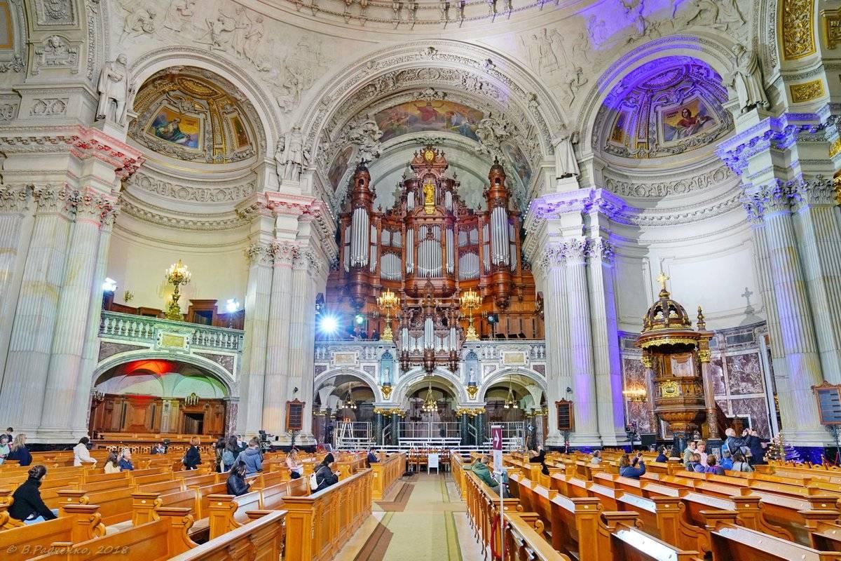 Берлинский кафедральный собор: адрес, описание, фото