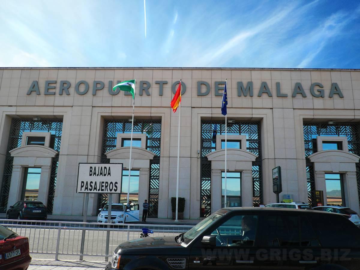 Аэропорт малага, коста-дель-соль.
