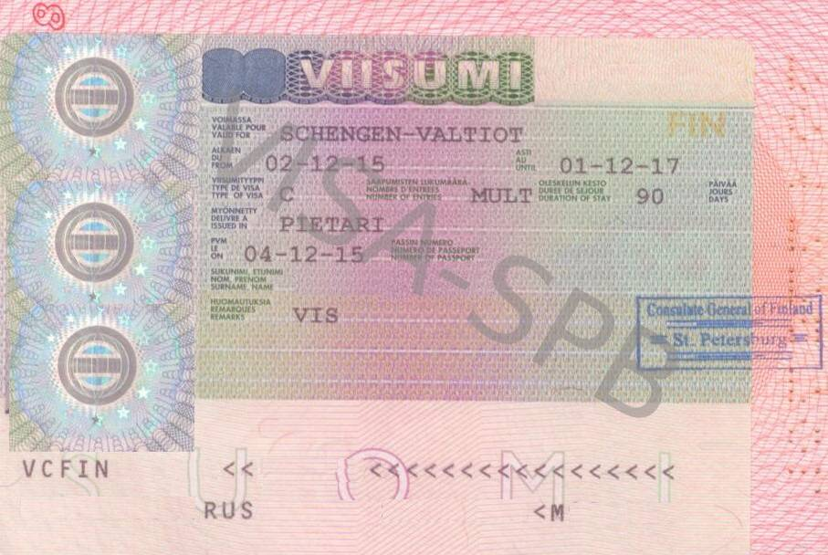 Шенгенская виза в финляндию в спб для россиян в 2021 | визовый центр