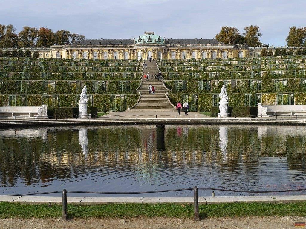 Дворец и парк сан-суси (schloss und park sanssouci)