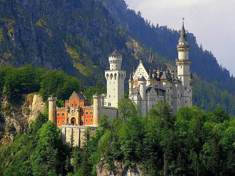 Замок нойшванштайн: описание, как добраться из мюнхена