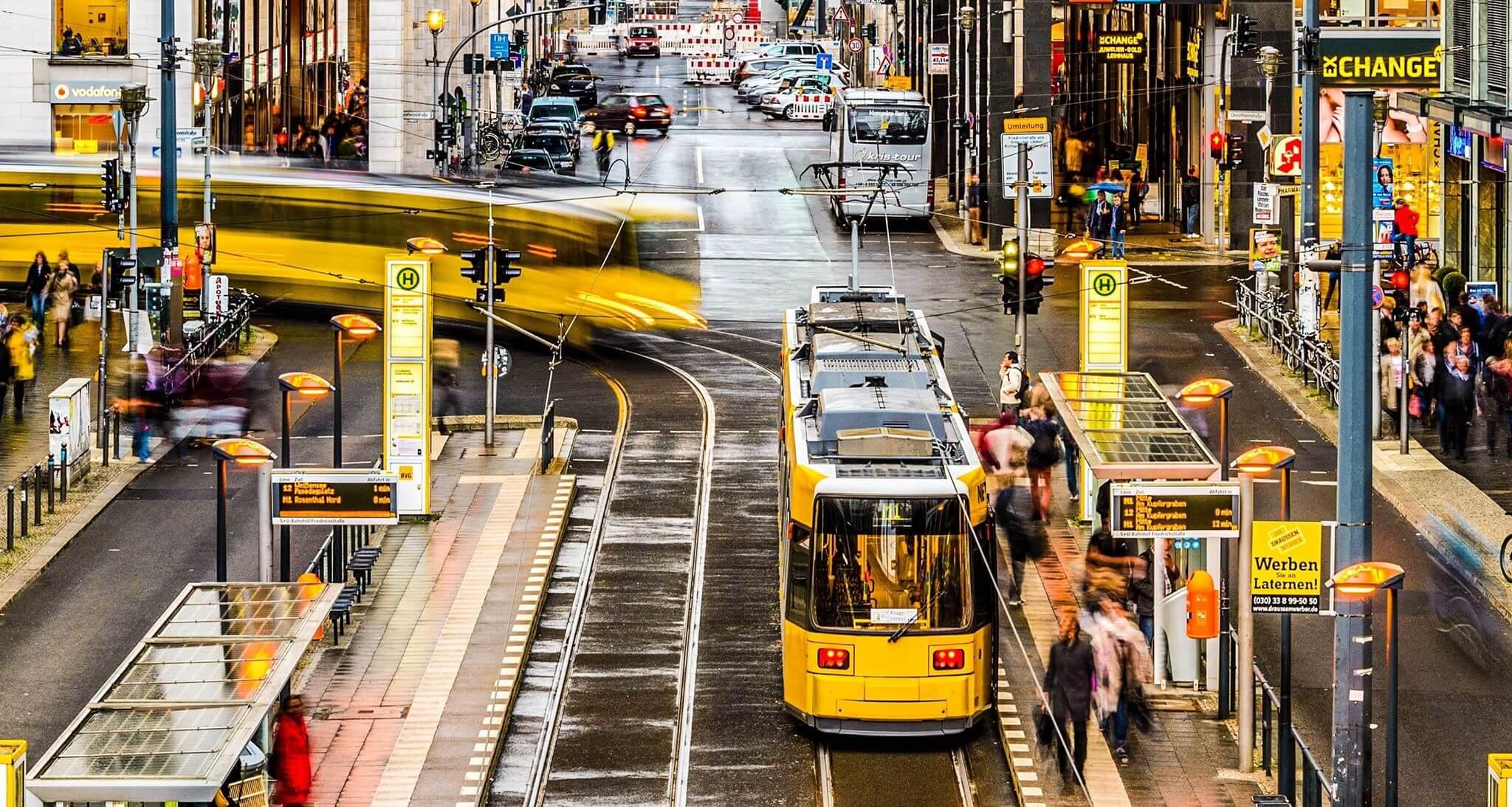 Автобусное сообщение в германии