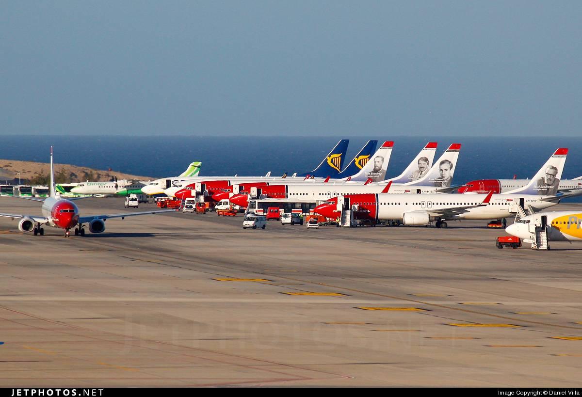 Международый аэропорт лас-пальмас-де-гран-канария