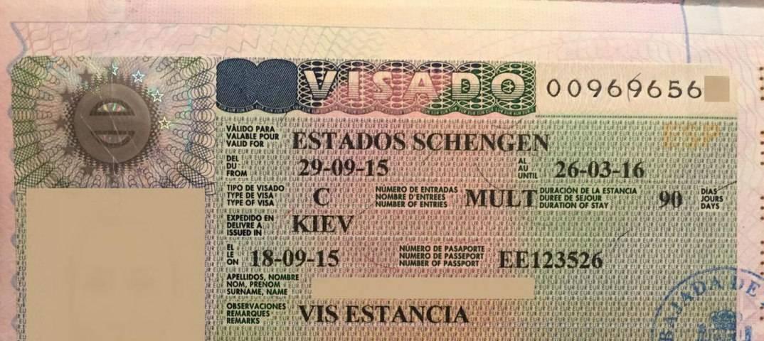 Список документов на туристическую визу в испанию