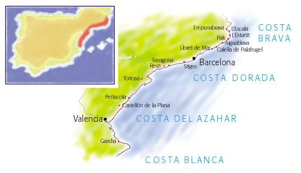 Коста дорада: золотое побережье каталонии