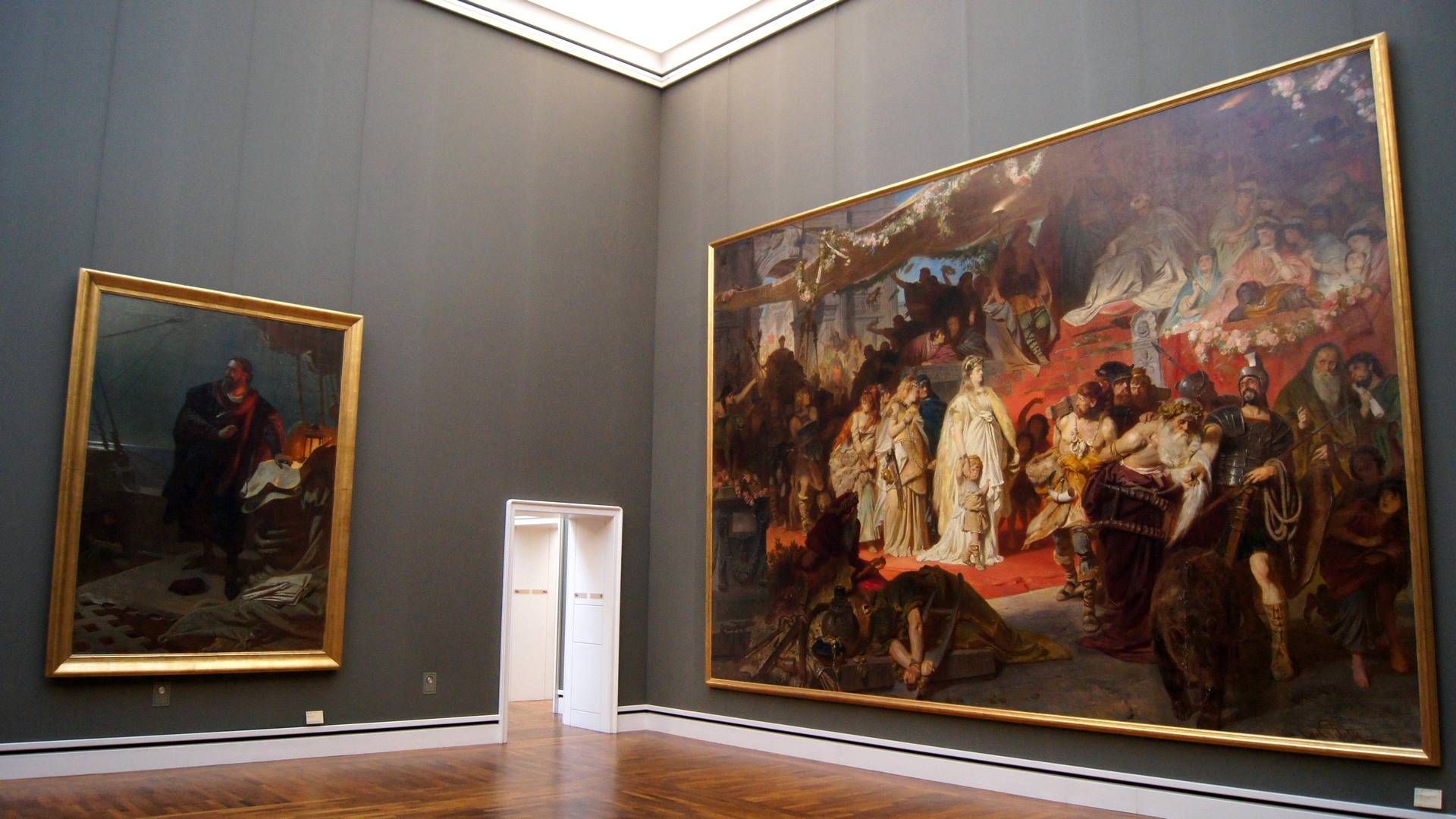 Старая национальная галерея в 2021