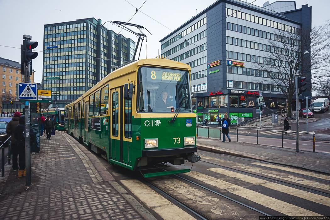 Общественный транспорт в финляндии: один из лучших