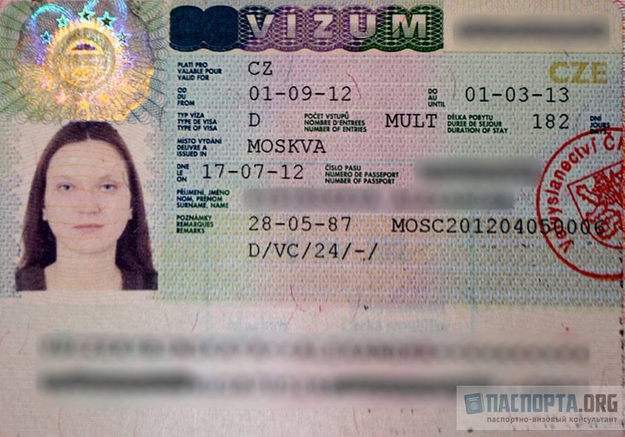 Виза в чехию: как оформлять самостоятельно? подробная инструкция