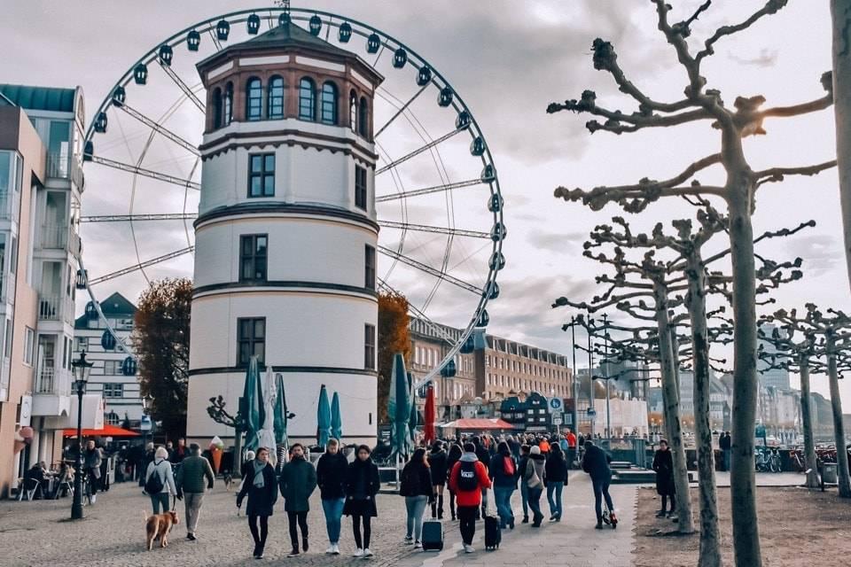 Главные достопримечательности дюссельдорфа - что стоит посетить обязательно!