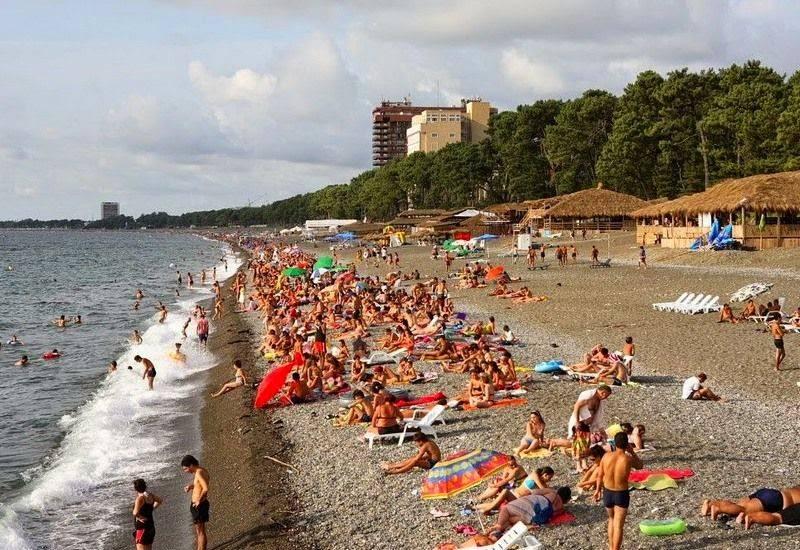 Лучшие пляжи грузии в батуми, кобулети, сарпи или гонио?