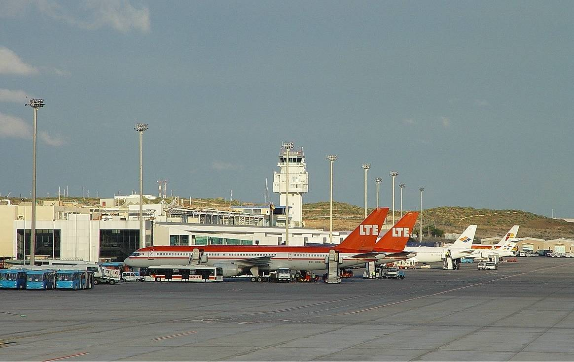 Аэропорты тенерифе: южный рейна софия и северный лос родеос