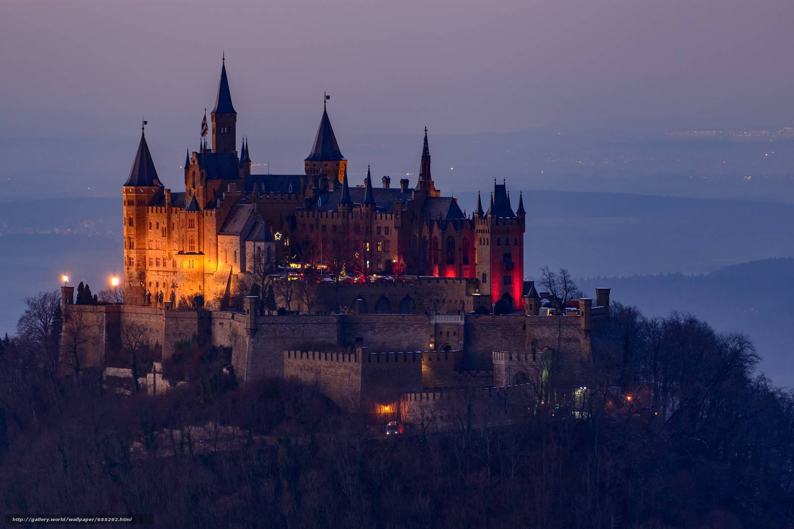 Гогенцоллерн – уникальный замок в германии
