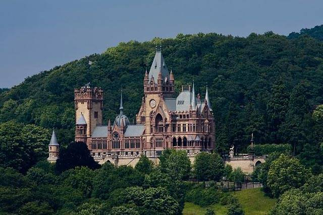 15 самых красивых замков германии