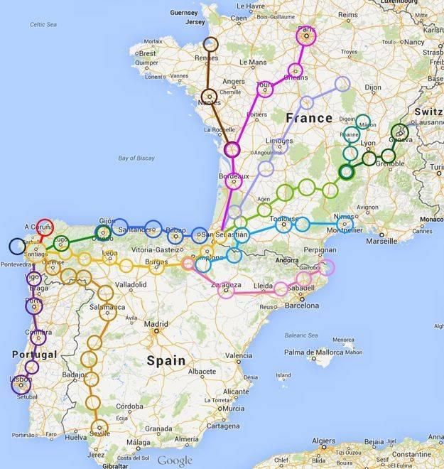 Поездки из барселоны в ближайшие страны  - советы, вопросы и ответы путешественникам на трипстере