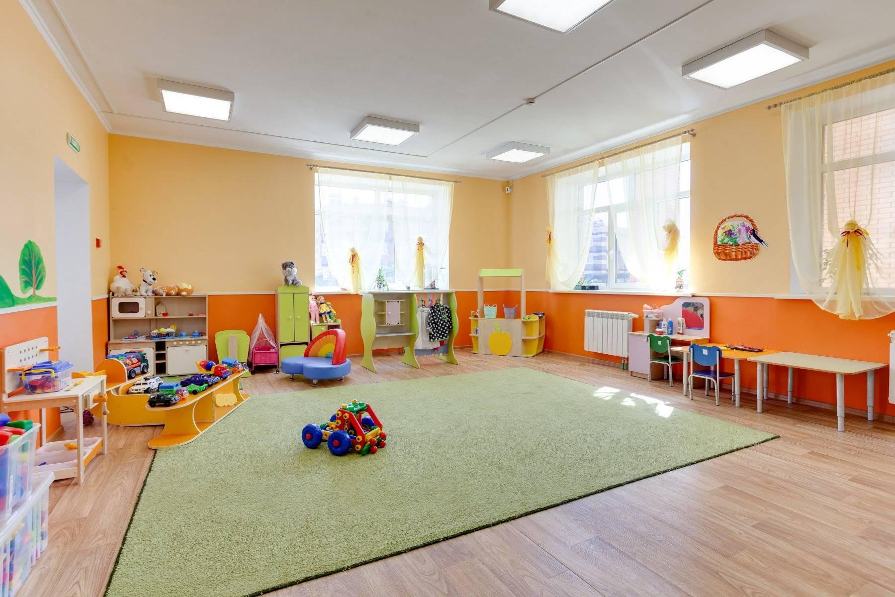 Детские сады и школы сша