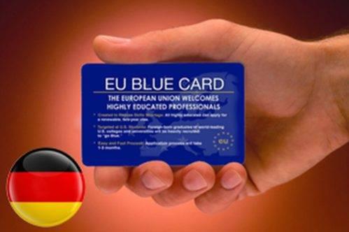 Оформление Голубой карты в Германию в 2021 году
