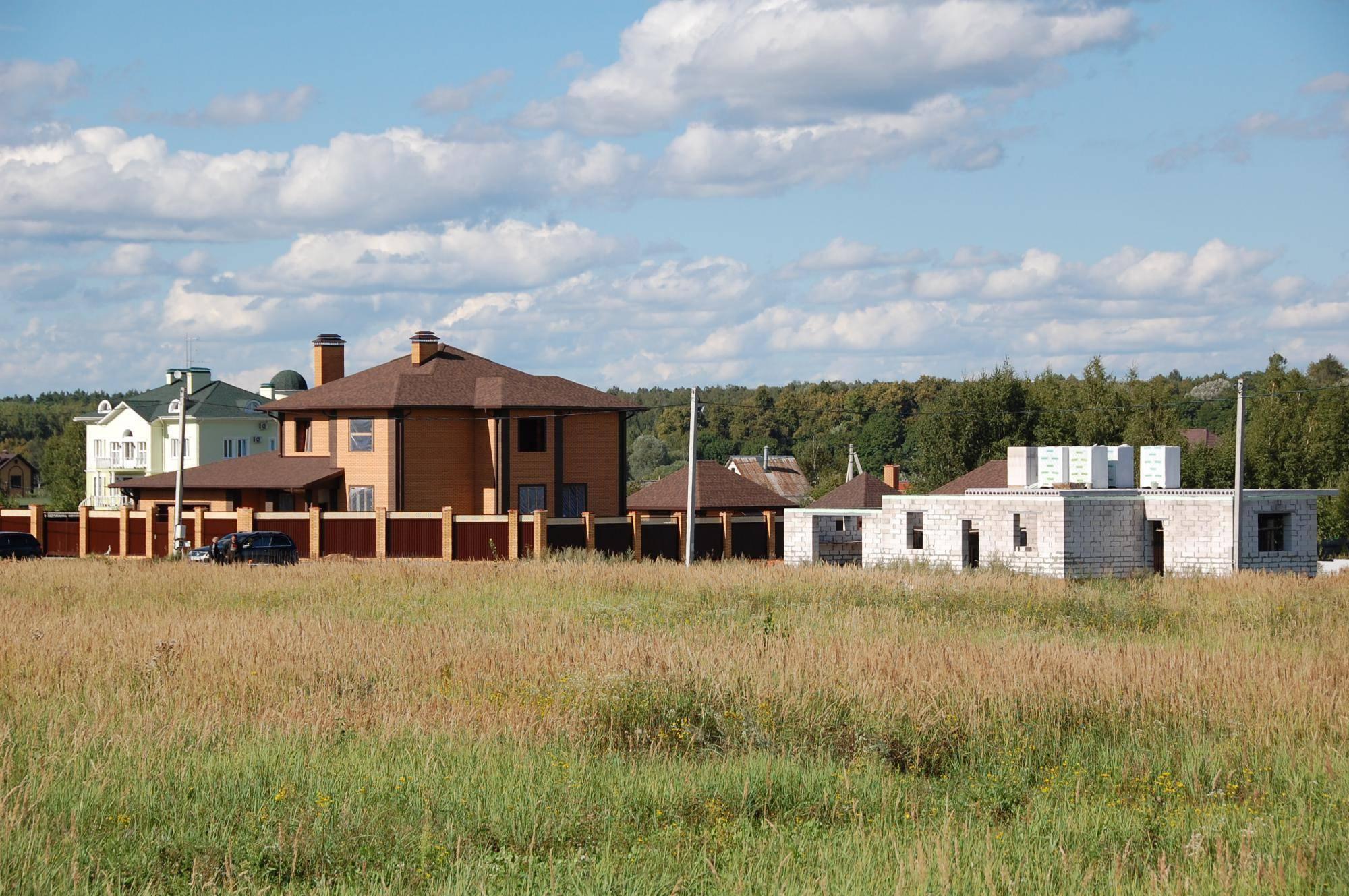 Выбор места для постройки своего дома в германии