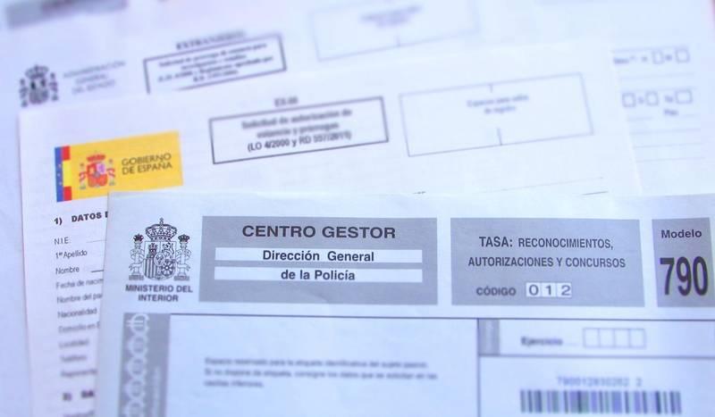 Процедура получения ВНЖ без права на работу в Испании