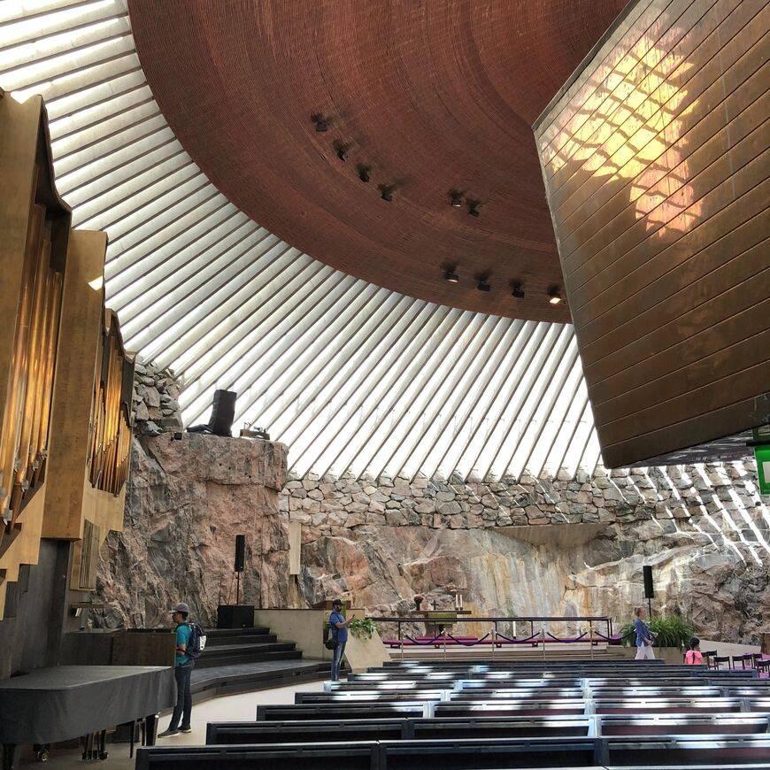 Церковь темппелиаукио в хельсинки: адрес, как добраться, история, описание.