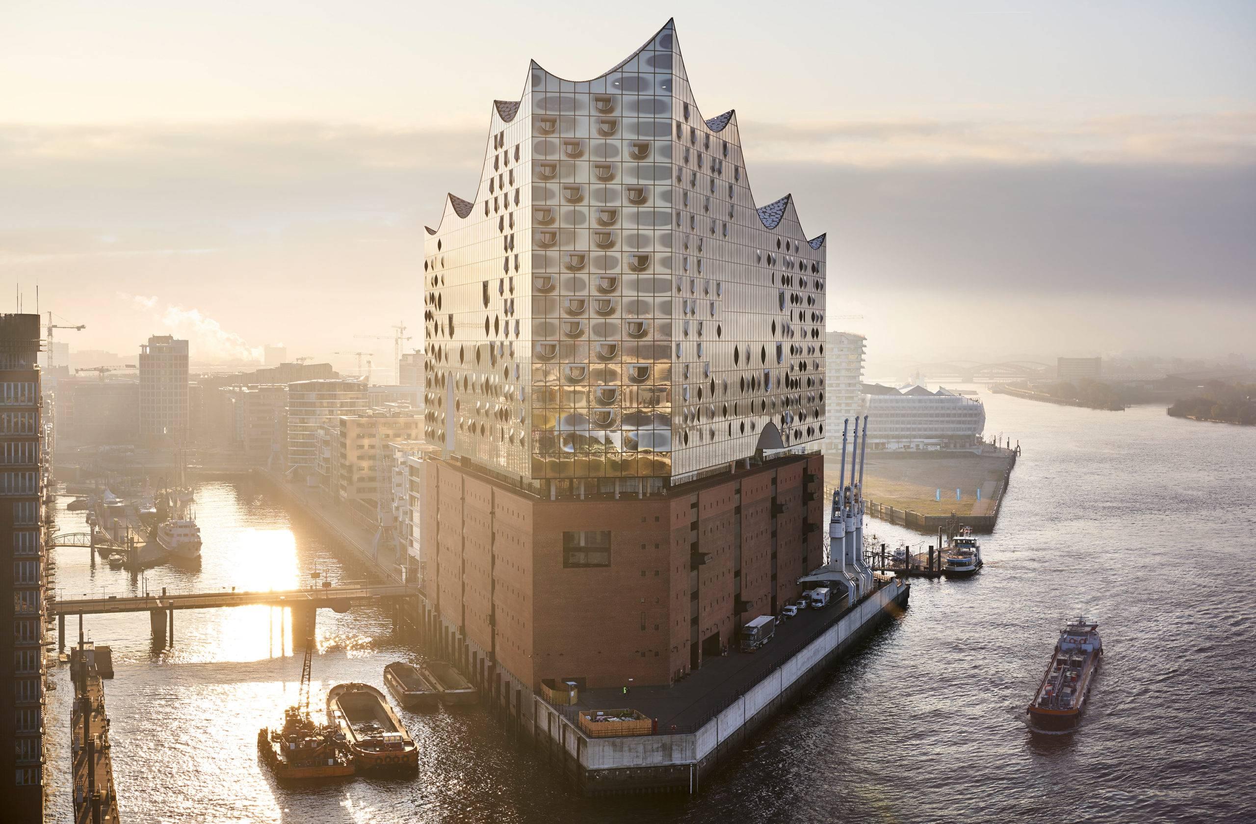 Гамбургская филармония на эльбе – храм музыки с интригующей историей