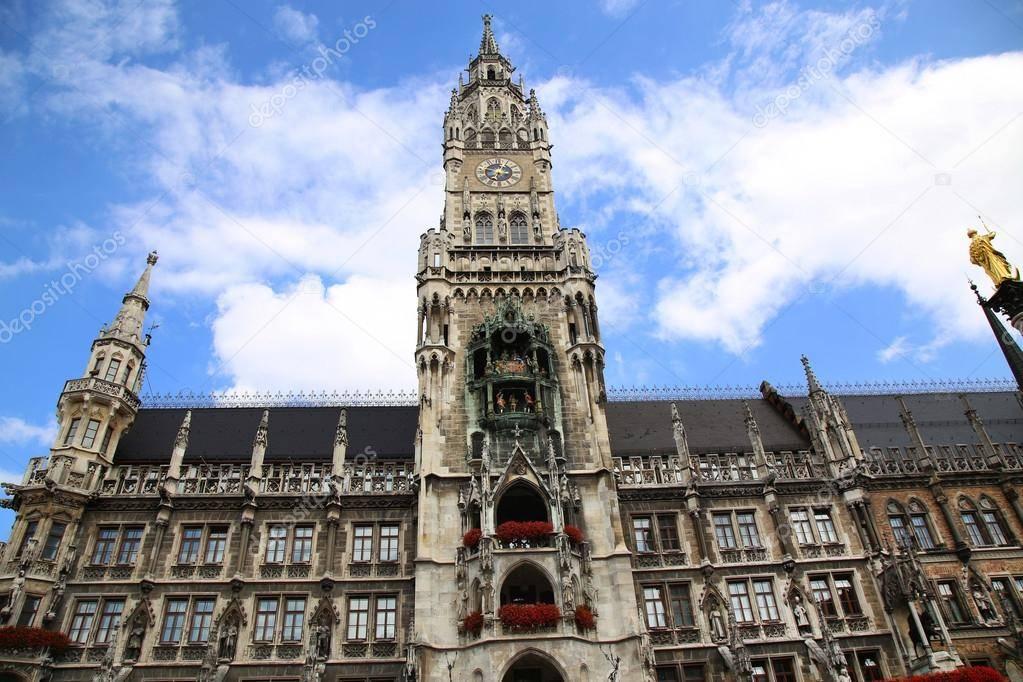 Новая ратуша мюнхена - обзор и фото - munchenguide