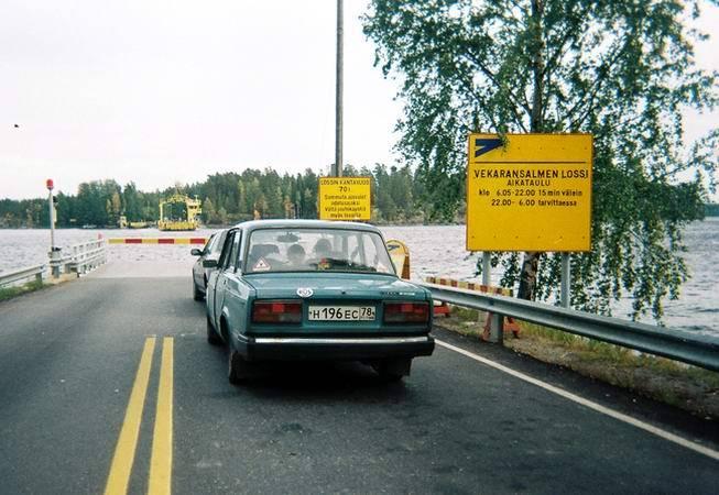 Автомобильные дороги в финляндии