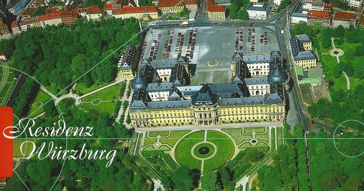 Вюрцбургская резиденция. шедевр эпохи барокко: вюрцбургская резиденция епископская резиденция в вюрцбурге