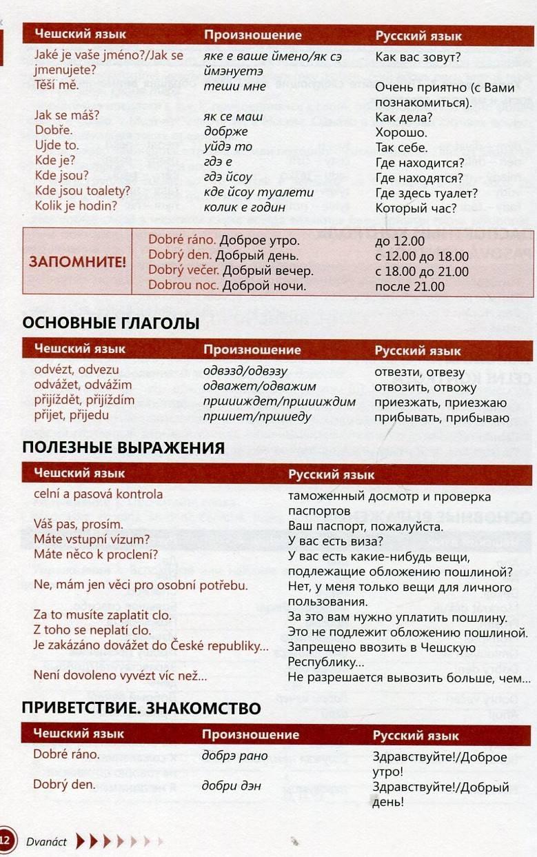 Чешский язык: история длиной в несколько веков - блог