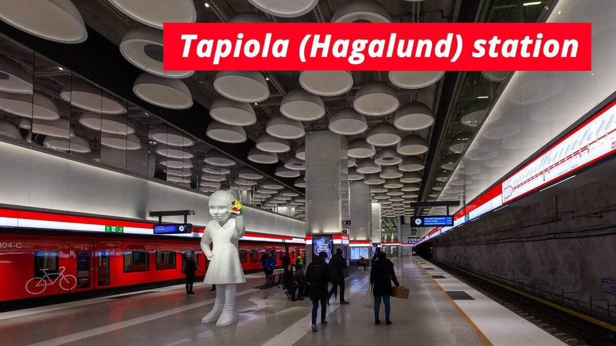 Метрополитен в столице финляндии