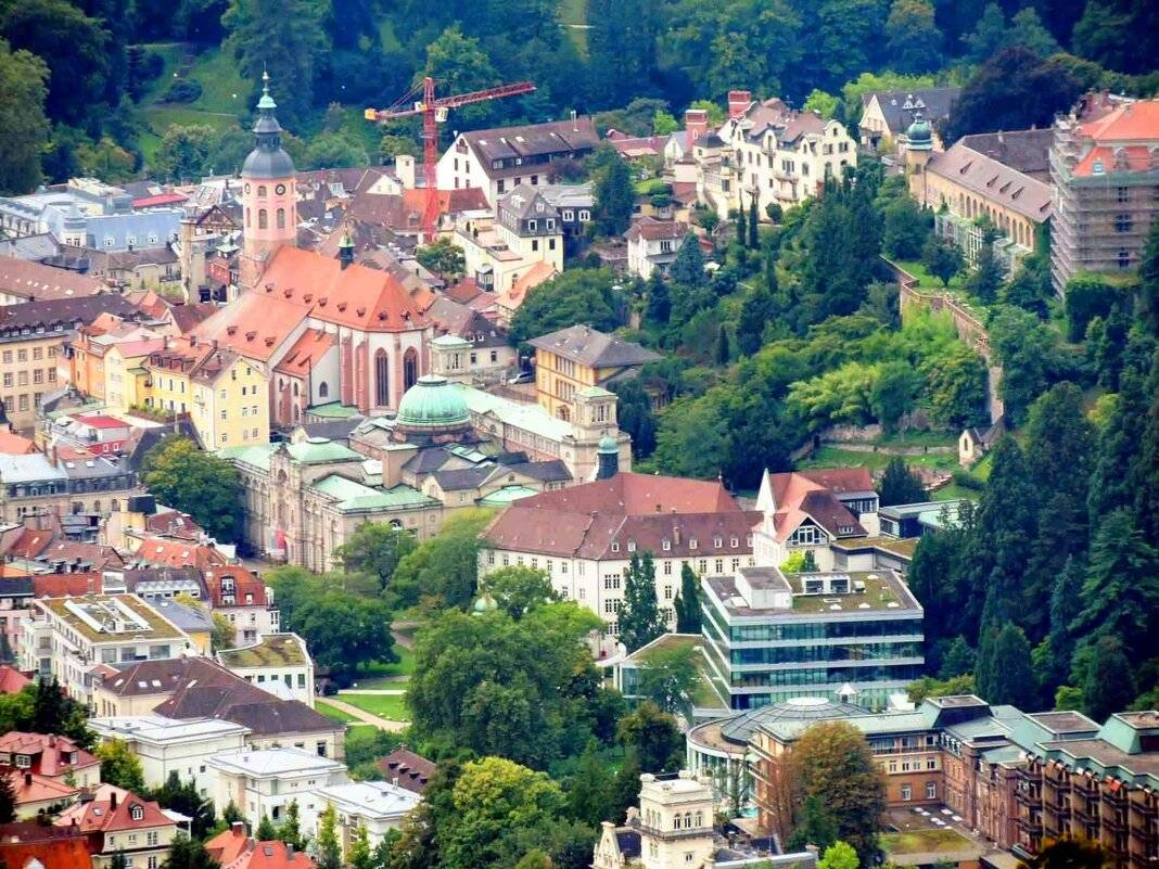 Баден-баден, германия: всё о курорте, достопримечательности