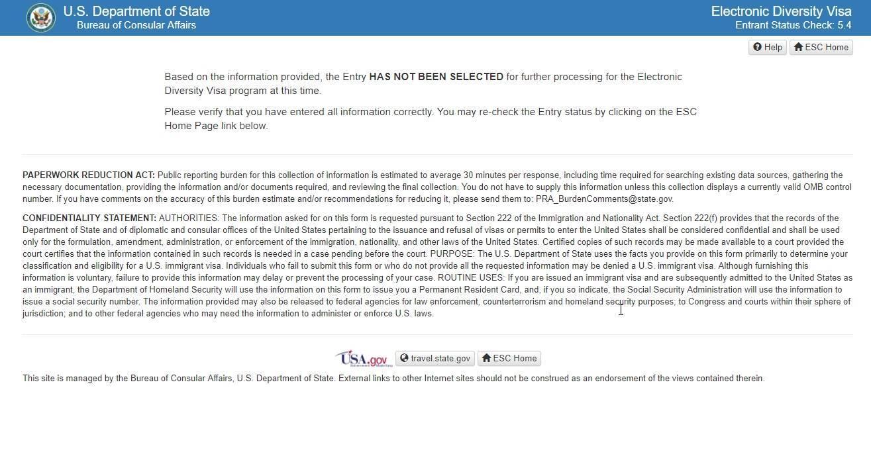 Результаты розыгрыша лотереи green card dv-2020 — иммигрант сегодня