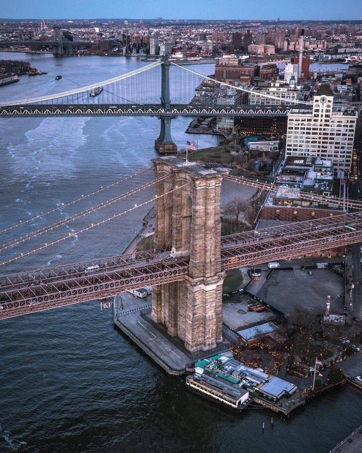 Бруклинский мост в нью-йорке: история и мифы, фото+видео
