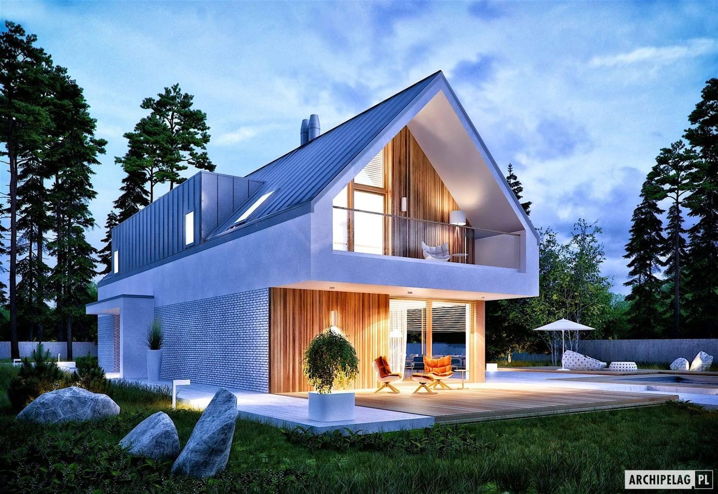 Польские одноэтажные проекты домов с. особенности проектирования польских домов и коттеджей