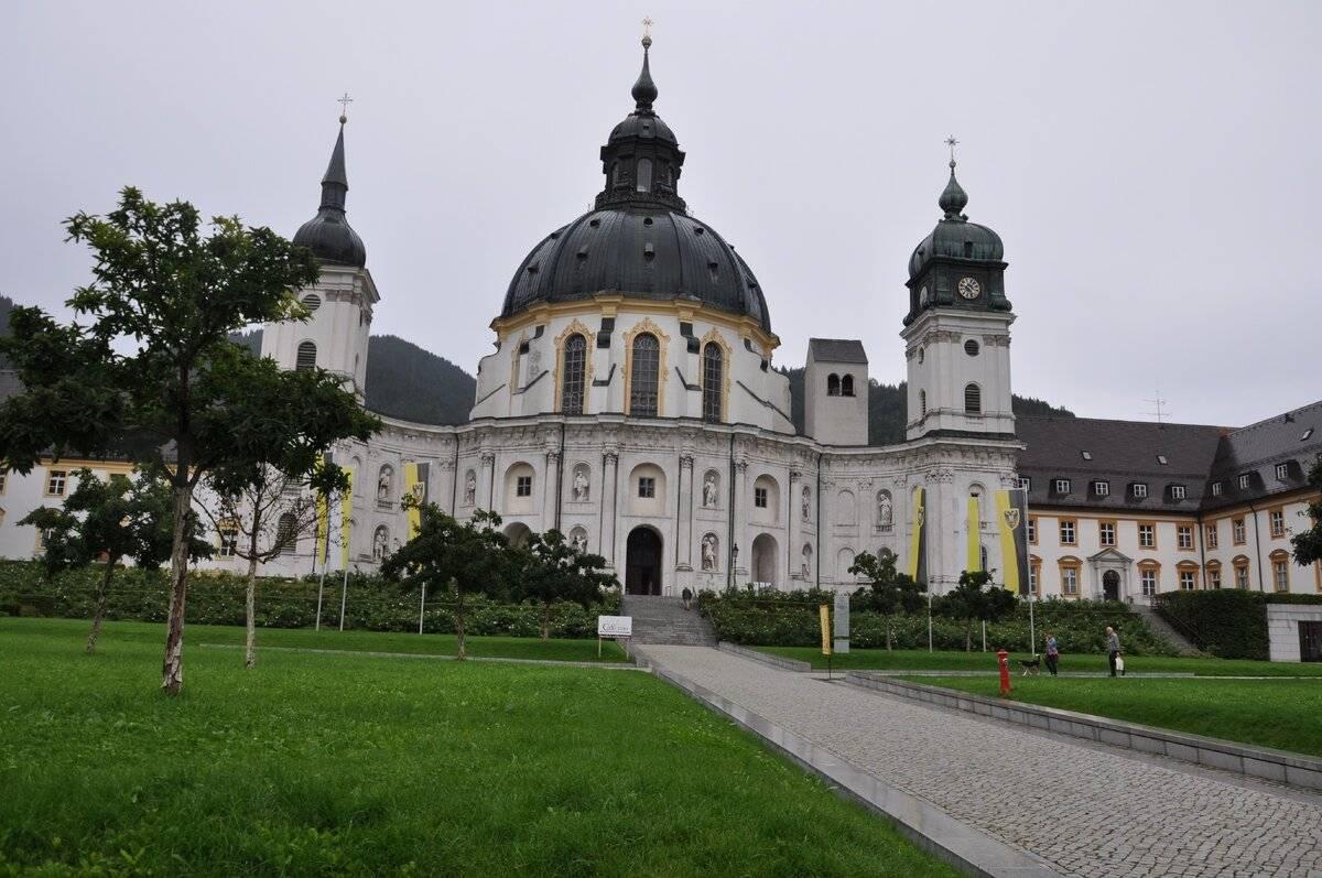 **монастырь этталь. мюнхен. путеводитель