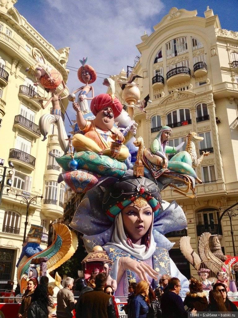 Фестиваль лас фальяс в валенсии – история, традиции, программа. | espanglish