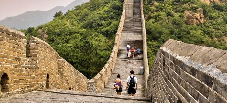 Как строилась великая китайская стена и что она представляет собой сейчас