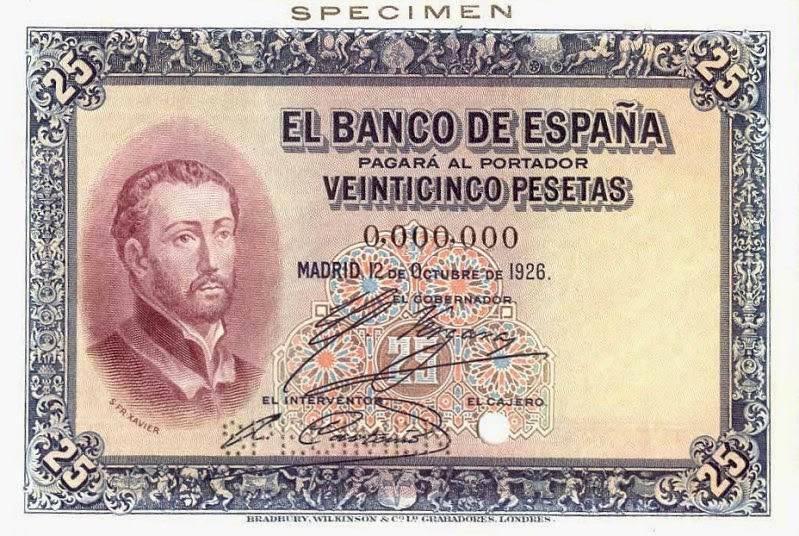 Валюта испании. история денежного обращения испании.