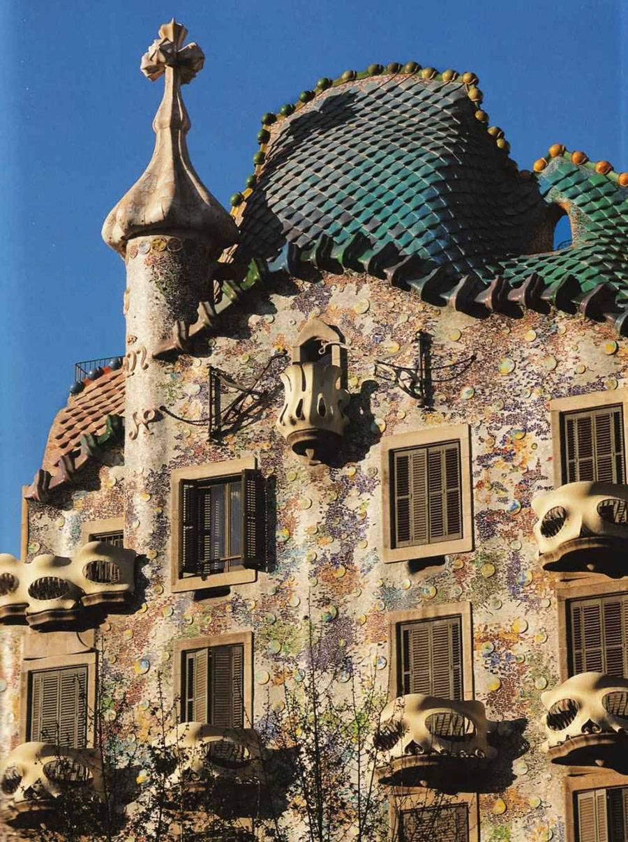 Дом висенс: восхитительное творение гауди