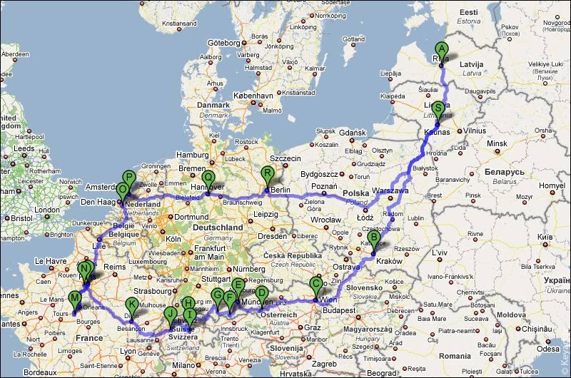 Самостоятельное путешествие по европе: все что нужно знать перед поездкой